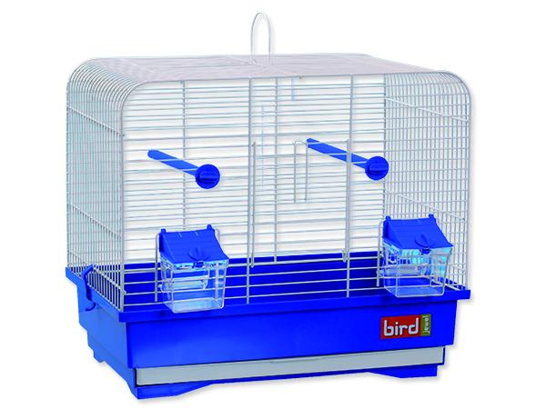 Klec BIRD JEWEL KS7 bílá + modrá 40 x 25,5 x 34,5 cm