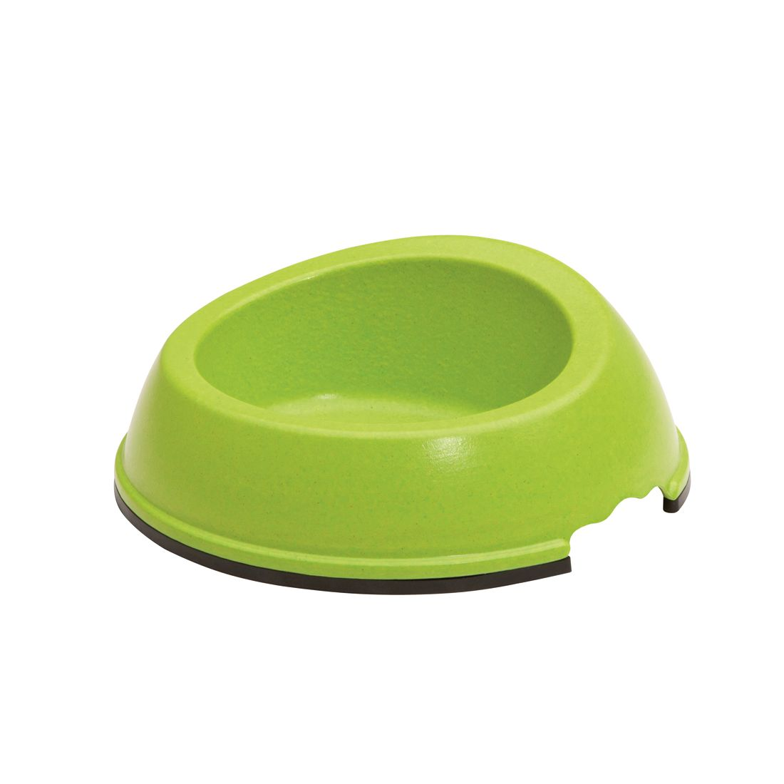 Maelson miska s protiskluzem - zelená - 20 x 20 x 7 cm