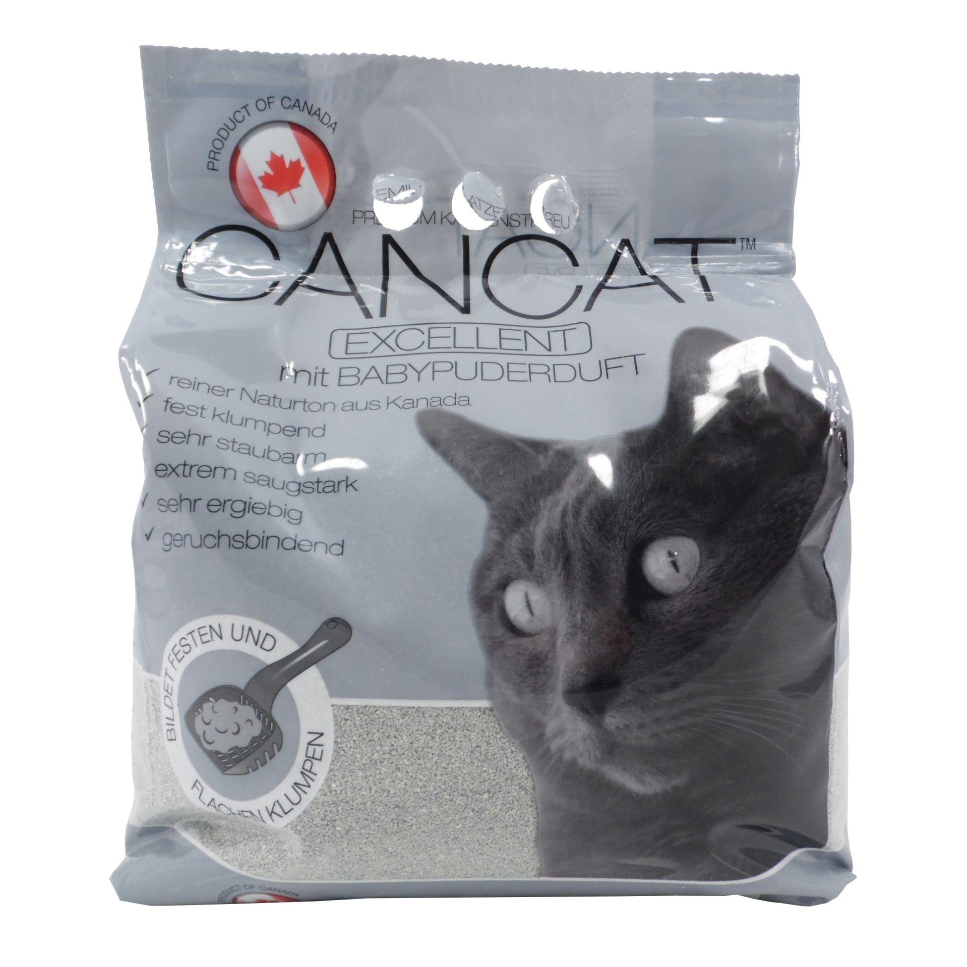 CanCat Excellent hrudkující bentonitové stelivo 8 kg