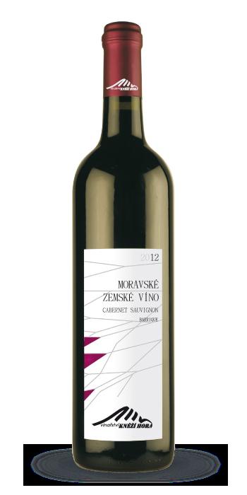 Cabernet Sauvignon 2012 barique - suché