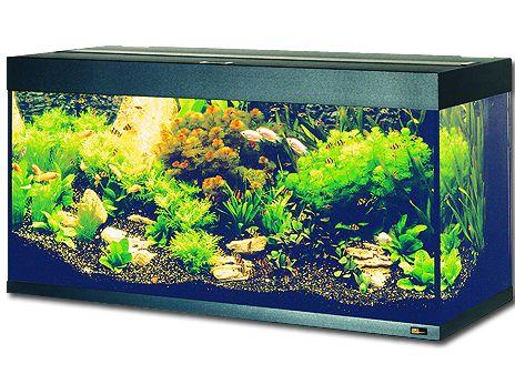 Juwel Rio 240 akvárium set černý 121x41x55 cm, objem 240 l