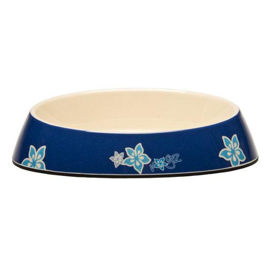 Rogz Bowlz Fishcake - Miska pro kočky plastová modrá, 200 ml
