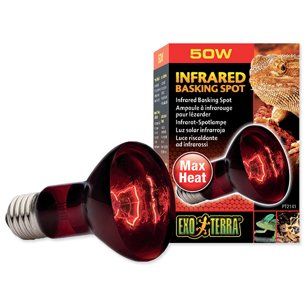 Žárovka EXO TERRA Infrared Basking Spot 50 W