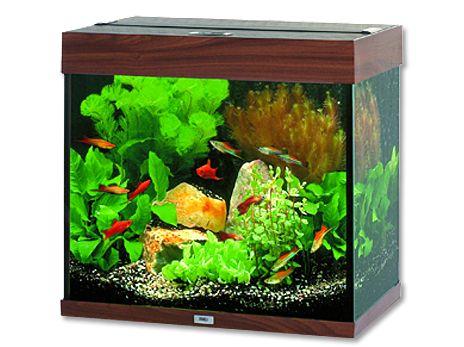 Juwel Lido 120 akvárium set tmavě hnědý 61x41x58 cm, objem 120 l