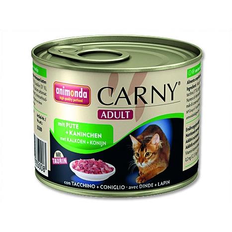 Animonda Carny - krůta & králík pro dospělé kočky 200 g