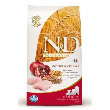 N&D Low Grain Dog Puppy Maxi Chicken & Pomegranate 12 kg
