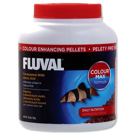 Hagen Fluval Color Enhancing Pellets krmivo v peletách pro intenzivní zbarvení ryb 325 ml