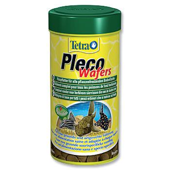Tetra Pleco Wafer plátky krmiva pro býložravé sumečky 250 ml