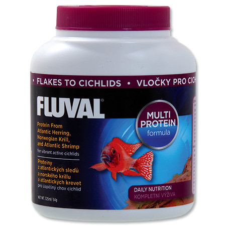 Hagen Fluval Cichlid Flakes vločkové krmivo pro cichlidy 325 ml