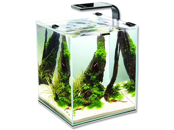 Aquael Shrimp Smart akvárium set 25x25x30 cm, objem 18,7 l