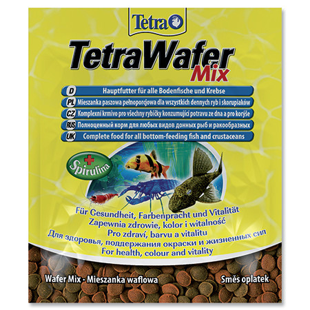 Tetra Wafer Mix krmivo pro jezerní ryby a raky sáček 15 g