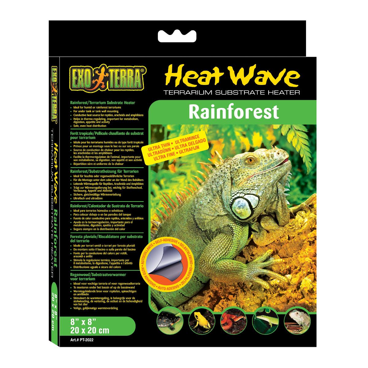 Deska topná EXO TERRA Heat Wave Rainforest malá 4 W