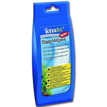TetraTec Easy Wipes ubrousky na čištění skla 10 ks