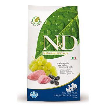 N&D Grain Free Dog Adult Lamb & Blueberry