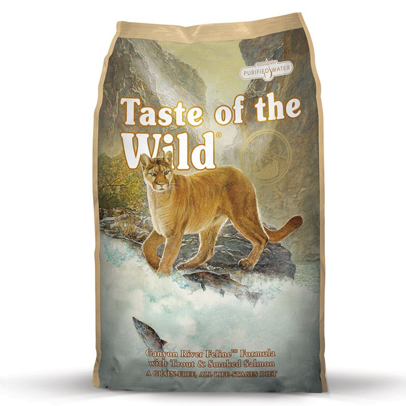 Taste of the Wild kočka Canyon River Feline 7 kg