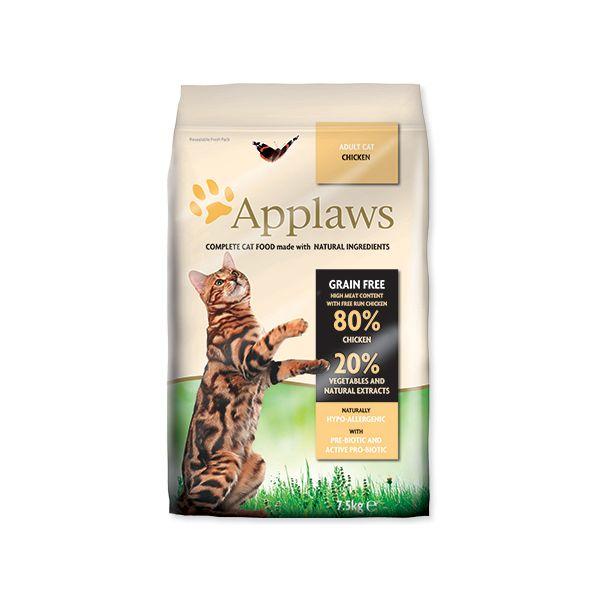 Krmivo APPLAWS Dry Cat Chicken 7,5 kg