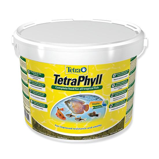 Tetra Phyll vločkové krmivo pro býložravé ryby 10 l